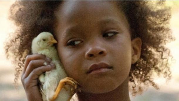 La jeune Quvenzhané Wallis dans le premier film de Benh Zeitlin, Les Bêtes du Sud Sauvage