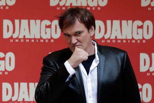 Le cinéaste Quentin Tarantino, heureux papa de Pulp Fiction et du petit dernier, Django Unchained.
