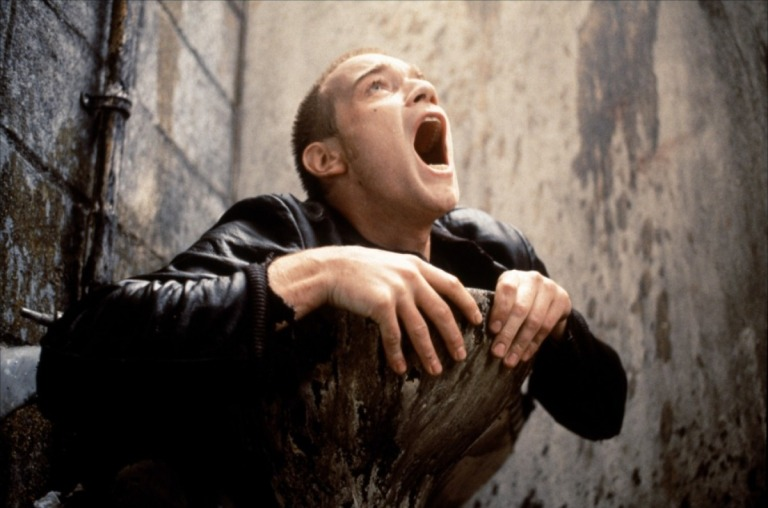 Ewan McGregor, dans Trainspotting