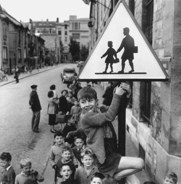 Célèbre photographie de Robert Doisneau