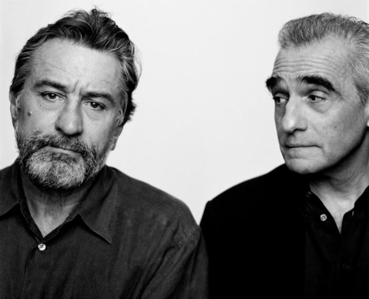 Robert De Niro et Martin Scorsese.