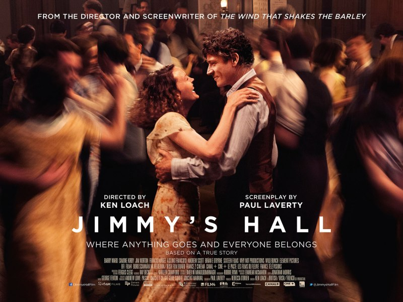 Jimmy's Hall Affiche Horizontale
