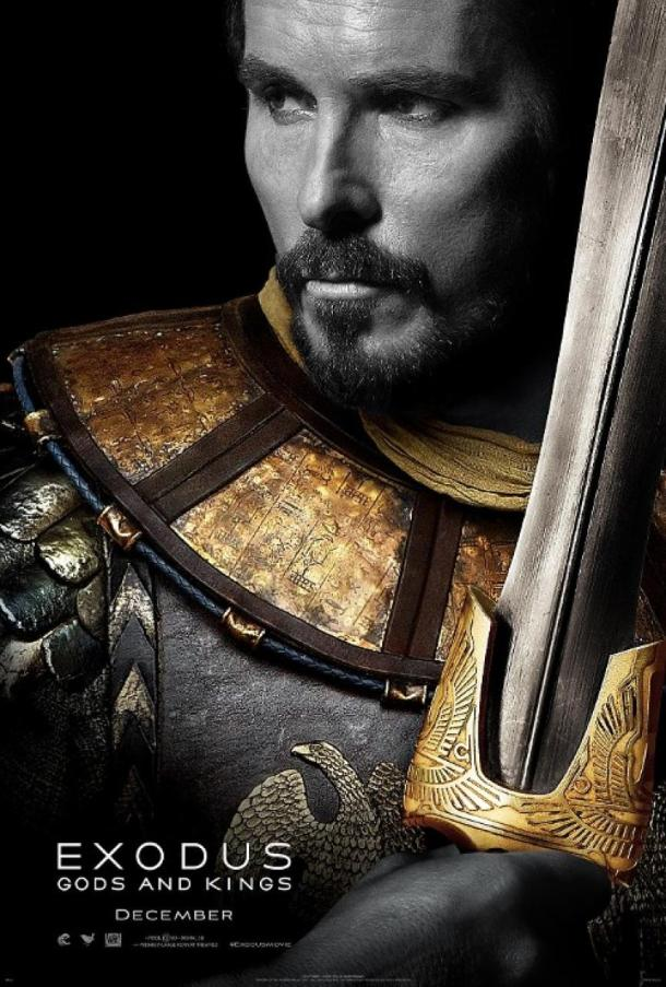 Christian Bale dans Exodus de Ridley Scott