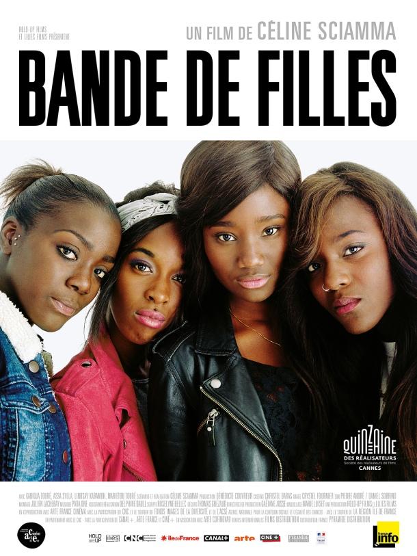 Affiche Poster Bande de filles Celine Sciamma Cannes 2014