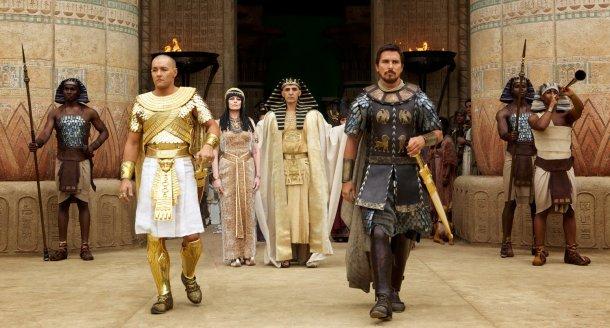 Le péplum revisité par Ridley Scott, Exodus, sortira en salles le 24 décembre.