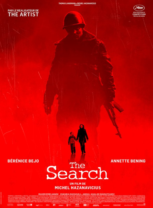 the search hazanavicius affiche poster