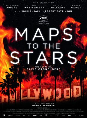 [NOTRE AVIS] Maps to the stars, les névroses d'Hollywood selon David Cronenberg