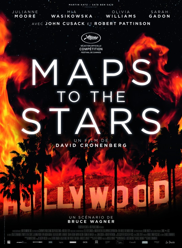 Affiche Maps to the Stars, de David Cronenberg
