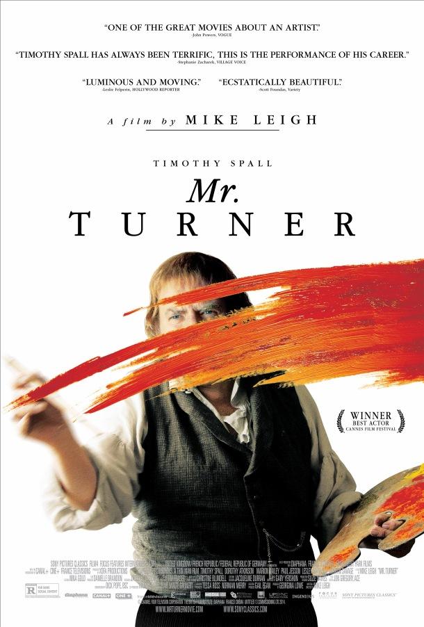 Mr Turner affiche poster