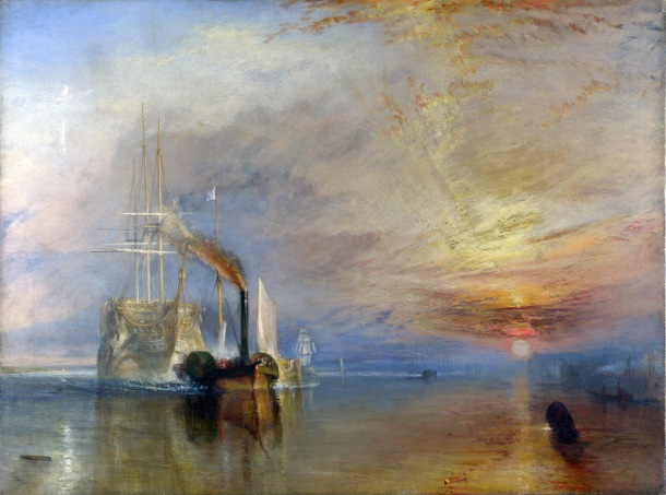 The Fighting Temeraire peinture JMW Turner
