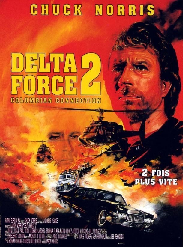 Chuck Norris, dans DELTA FORCE 2