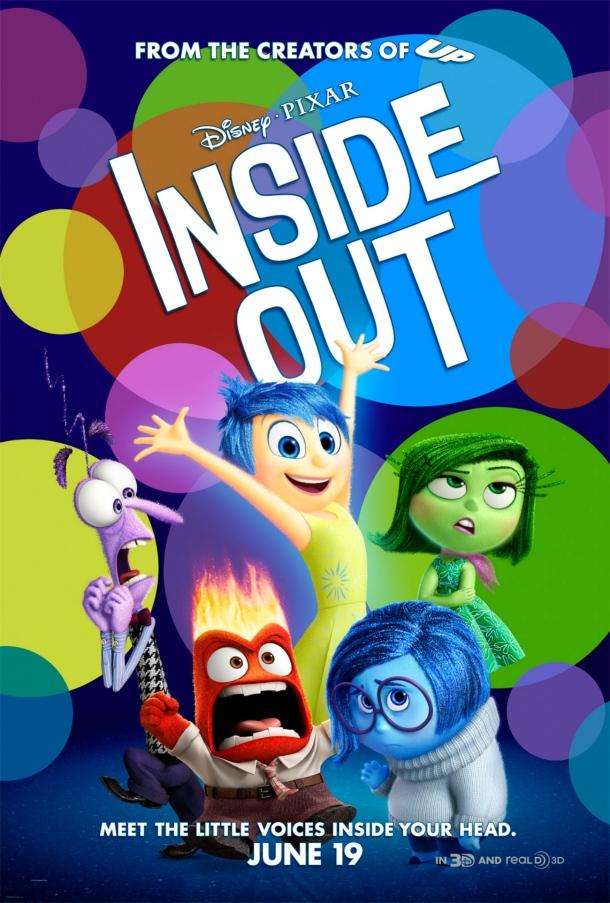 Affiche d'inside out