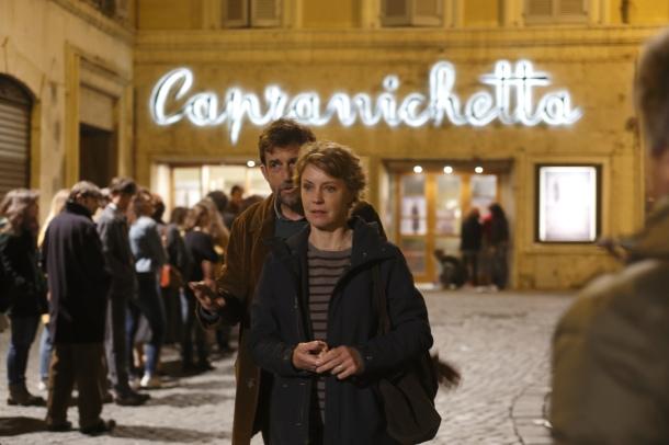 Nanni Moretti et Margherita Buy dans Mia Madre