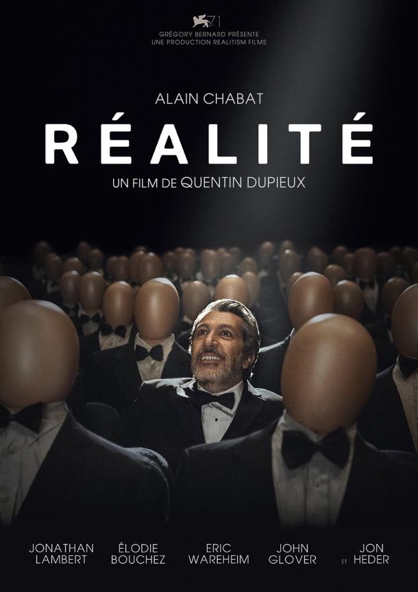 Affiche de Réalité, réalisé par Quentin Dupieux
